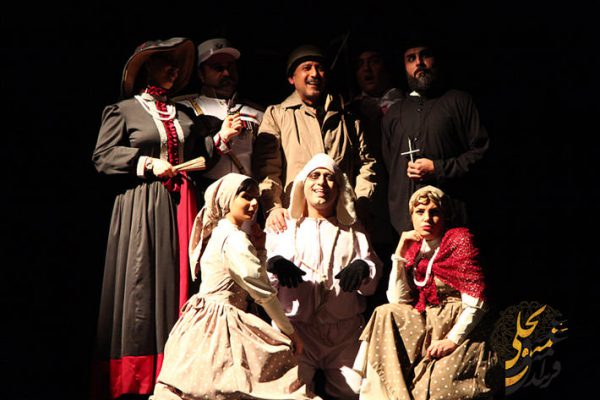 اجرای تئاتر سربازی به نام شوایک در بجنورد