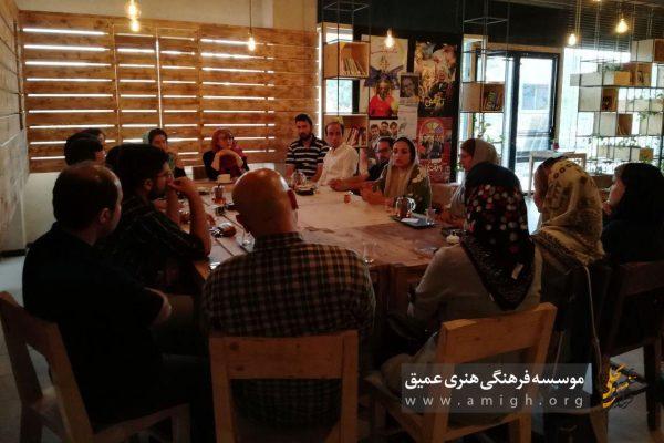 برگزاری نشستهای نوبلخوانی کافه کتاب بجنورد موسسه فرهنگی هنری عمیق