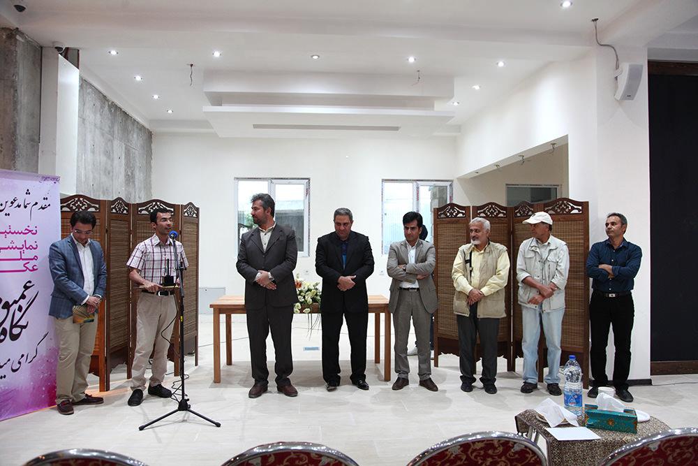 افتتاحیه نمایشگاه عکس نگاه عمیق